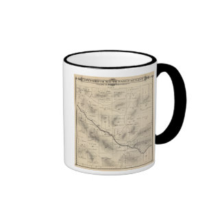 T24S R28E Tulare County Section Map Mug
