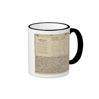 T24S R3031E Tulare County Section Map Ringer Coffee Mug