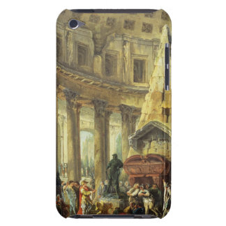 T28516 Alexander the Great visiting the Tomb of Ac iPod Touch Case