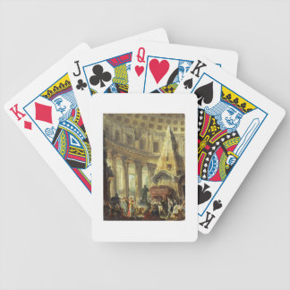 T28516 Alexander the Great visiting the Tomb of Ac Bicycle Poker Cards
