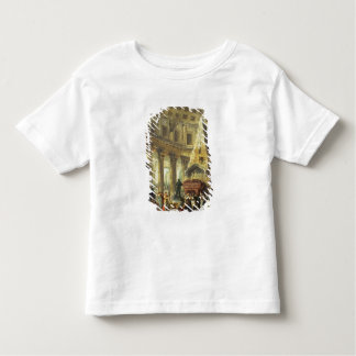 T28516 Alexander the Great visiting the Tomb of Ac Toddler T-shirt