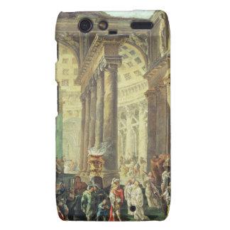 T28517 Capriccio of a Roman temple with Alexander Droid RAZR Case