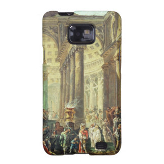T28517 Capriccio of a Roman temple with Alexander Galaxy SII Covers