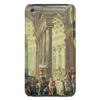 T28517 Capriccio of a Roman temple with Alexander Barely There iPod Cases