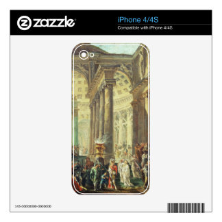 T28517 Capriccio of a Roman temple with Alexander iPhone 4S Decal