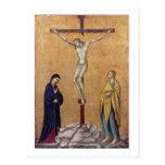 T28723 la crucifixión (el panel) postal