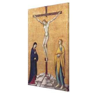 T28723 The Crucifixion (panel) Canvas Print