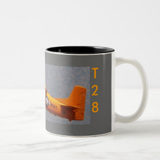 T28 Yellow POC, T28, T28 Two-Tone Coffee Mug