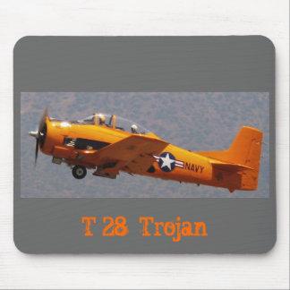 T28 Yellow POC, T 28  Trojan Mouse Pad
