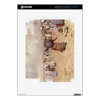 T29836 Elegant Figures on a Beach, 1886 iPad 3 Skin
