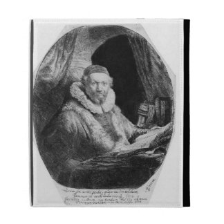 T29953 Portrait of Jan Uytenbogaert, Preacher of t iPad Folio Case