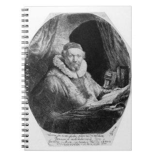 T29953 Portrait of Jan Uytenbogaert, Preacher of t Note Books