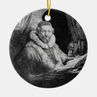 T29953 Portrait of Jan Uytenbogaert, Preacher of t Ornaments