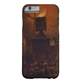 T30554A The Burning Windmill, 1662 (panel) Barely There iPhone 6 Case