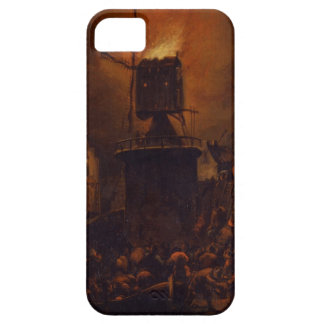 T30554A The Burning Windmill, 1662 (panel) iPhone SE/5/5s Case