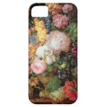 T30763 A Still Life of Flowers and Fruit (panel) iPhone 5 Covers
