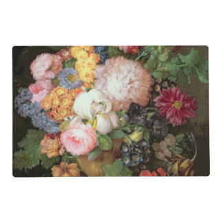 T30763 A Still Life of Flowers and Fruit (panel) Placemat