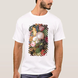 T30763 A Still Life of Flowers and Fruit (panel) T-Shirt