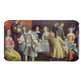 T30878 Elegant Company Dining Beneath a Red Canopy Barely There iPod Cases
