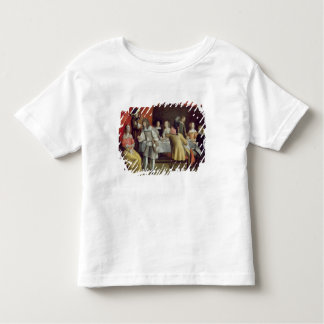 T30878 Elegant Company Dining Beneath a Red Canopy Toddler T-shirt