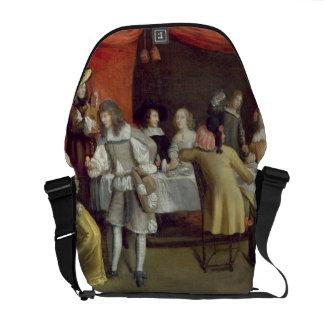 T30878 Elegant Company que cena debajo de un toldo Bolsas De Mensajeria