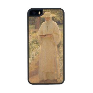 T30928 la vida silenciosa, 1880 funda de arce carved® para iPhone 5 slim