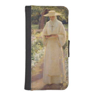 T30928 The Silent Life, 1880 iPhone SE/5/5s Wallet Case