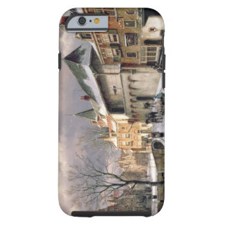 T31117 A View of a Dutch Town in Winter iPhone 6 Case