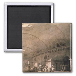 T31459 A Prison Scene, 1794 (pen & ink, wash, chal Magnet