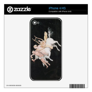 T31466 A Female Centaur and Companion Making Music Decal For The iPhone 4S