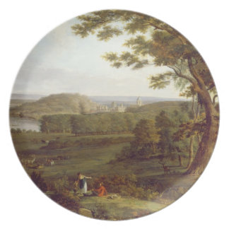 T31507 View from the North West of Castle Howard, Melamine Plate