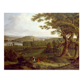 T31507 View from the North West of Castle Howard, Postcard