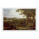 T31507 View from the North West of Castle Howard, Poster