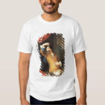 T31553 A Cavalier Standing at a Window Examining a Shirt