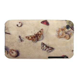 T31566 A Study of Various Insects, Fruit and Anima iPhone 3 Covers