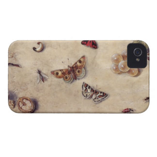 T31566 A Study of Various Insects, Fruit and Anima Case-Mate iPhone 4 Cases