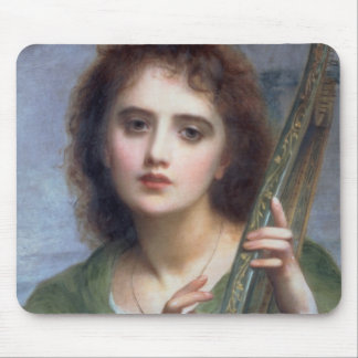 T31601 A Lady with Lyre (panel) Mouse Pad