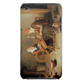 T31883 un interior con una mujer mayor en un giro Case-Mate iPod touch cobertura