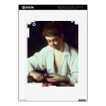T31971 A Young Boy Peeling an Apple iPad 3 Decals