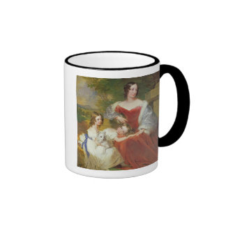 T32011 Portrait of Mrs Sarah Frances Cooper and he Ringer Coffee Mug