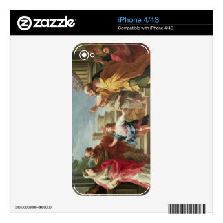 T32126 Christ Preaching in the Temple iPhone 4 Decal