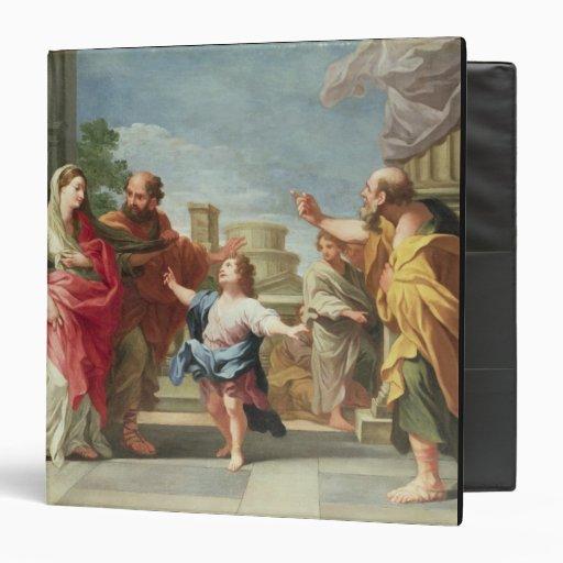 T32126 Cristo que predica en el templo