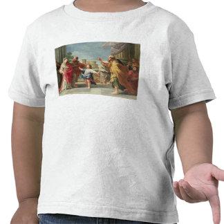 T32126 Cristo que predica en el templo Camisetas