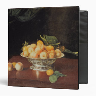 T32176 Still Life of Peaches, c.1700 3 Ring Binder