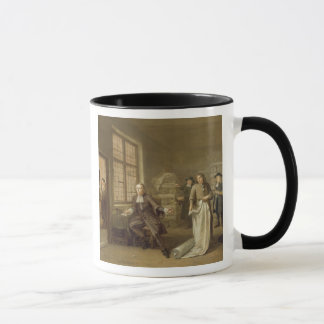 T32334 The Buyer at the Clothes Merchant's, 1690 Mug