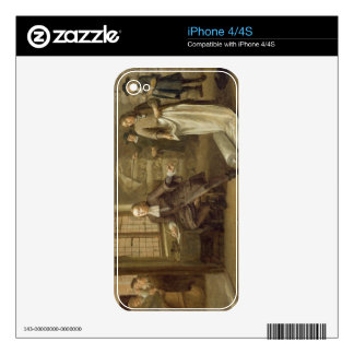 T32334 The Buyer at the Clothes Merchant's, 1690 Skins For The iPhone 4