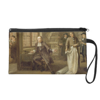 T32334 The Buyer at the Clothes Merchant's, 1690 Wristlet Purse