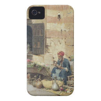 T32410 The Flower Seller, 1891 (panel) iPhone 4 Case-Mate Case