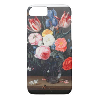 T32511 Still Life of Flowers in a Vase, 1661 (see iPhone 8/7 Case