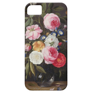T32512 Still Life of Flowers in a Vase, 1661 (see iPhone SE/5/5s Case